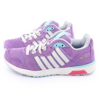【K-SWISS】女款RANNELL 2 復刻休閒鞋(93178-556-紫)