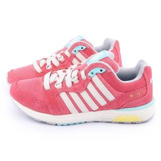 【K-SWISS】女款RANNELL 2 復刻休閒鞋(93178-699-紅)