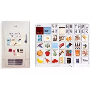 【西班牙Londji】購物清單冰箱磁鐵組(造型磁鐵)