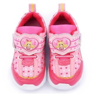 【童鞋城堡】偶像學園 中大童 浪漫愛心電燈鞋(ID5212-粉)