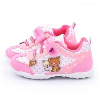 【童鞋城堡】拉拉熊 中大童 甜美透氣運動鞋(KM6677-粉)