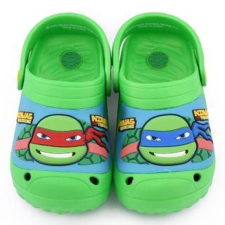 【童鞋城堡】忍者龜 大童 帥氣輕量花園鞋(TT1670-綠)