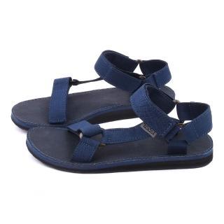 【TEVA】男款 經典織帶涼鞋(TV1008654NAVY-藍)