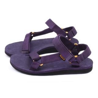 【TEVA】女款 經典織帶涼鞋(TV1008642NSAD-紫)