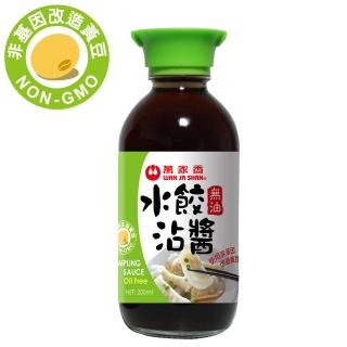 【萬家香】無油水餃沾醬(200ml)