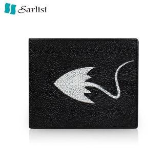 【Sarlisi】品味生活珍珠魚皮夾