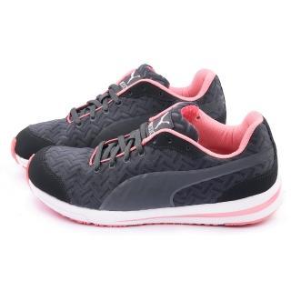【PUMA】女款Austin PW RCOOL W輕量運動鞋(188053-03-黑粉)
