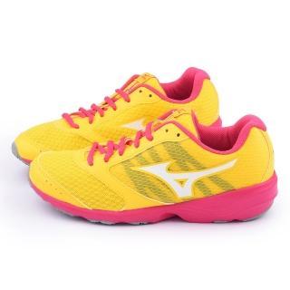 【MIZUNO】女款 PRIMA VIVO 2 慢跑鞋(J1GH152701-黃)