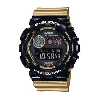 【CASIO 卡西歐 G-SHOCK 系列】日本內銷款-炫光金屬新設計運動錶玩酷撞色系列(GD-120CS)