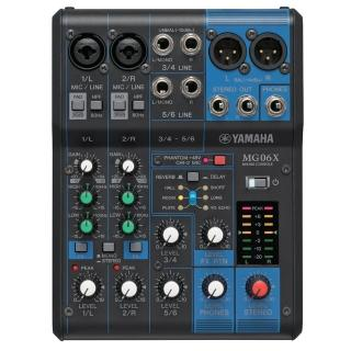 【YAMAHA 山葉】MG06X 混音器
