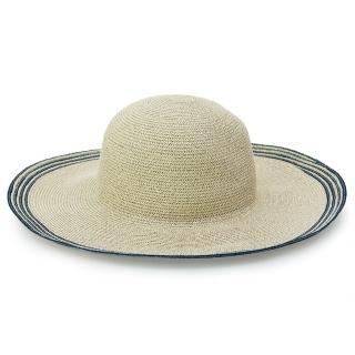 【Limehi】時尚造型大檐草帽 沙灘遮陽帽 可折疊帽(深卡其 Lime-22-D)