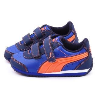 【PUMA】小童 輕量運動鞋(357640-08-藍)