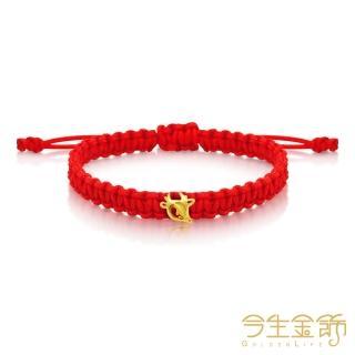 【今生金飾】祿(彌月手環商品)