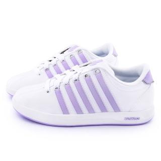 【K-SWISS】女款 COURT PRO S復刻休閒鞋(93279-104-淡紫)