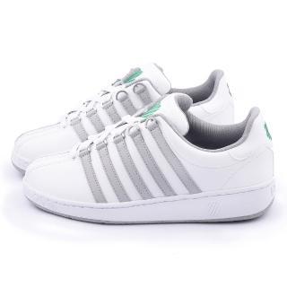 【K-SWISS】男款 CLASSIC VN 經典款休閒鞋(03343-827-白灰)