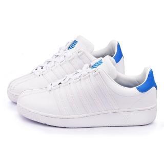 【K-SWISS】男款 CLASSIC VN 經典款休閒鞋(03343-146-白藍)
