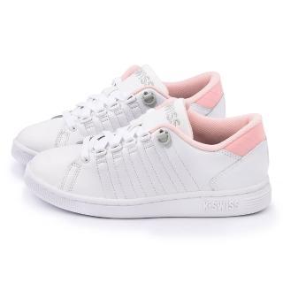【K-SWISS】女款 LOZAN III 時尚休閒鞋(93212-182-白粉)