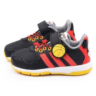 【Adidas】小童 迪士尼米奇聯名運動鞋(B23888-黑)