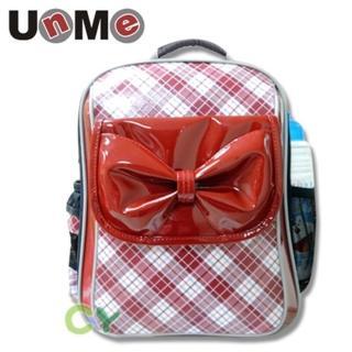 【UnMe】單層蝴蝶結後背書包(紅色)