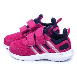 【Adidas】小童 輕量透氣運動鞋(B23848-桃)