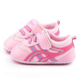 【童鞋城堡】日本娃娃 小童 精選寶寶學步鞋(310-粉)