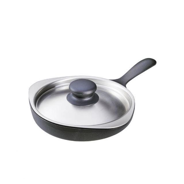【柳宗理】南部鐵器迷你煎盤(附不鏽鋼蓋)