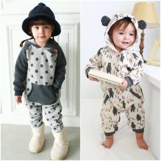【baby童衣】寶寶連身衣 耳朵造型連身爬服 50807(共2色)