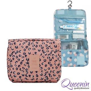 【DF Queenin】DF Queenin - 韓版人氣款新色系可掛式盥洗收納包(共3色)