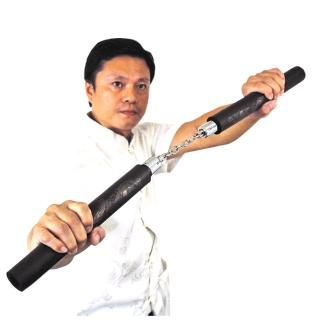 【輝武】武術用品-台灣製造高密度泡棉雙節棍(防身習武首選-1入)