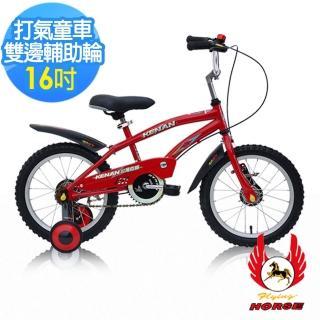 【飛馬】16吋打氣專利童車-紅