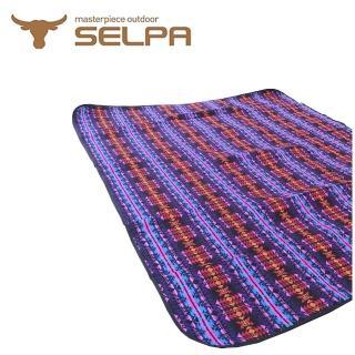 【韓國SELPA】戶外防水處理漂流風野餐墊/寶寶爬行墊/地墊/地布