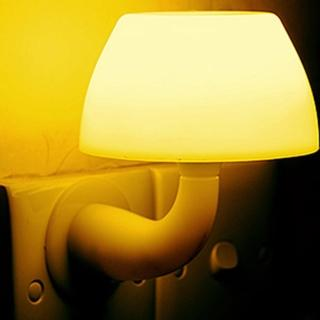 蘑菇造型LED聲控 光控 自動感應燈(小夜燈)