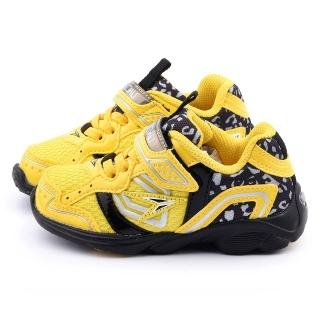 【Achilles瞬足】中童 超輕量透氣運動鞋(ESJC0721-黃)