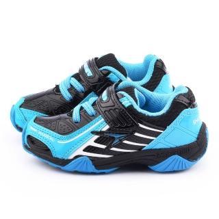 【Achilles瞬足】中童 超輕量透氣運動鞋(ESJC0730-黑)