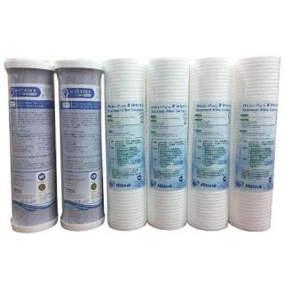 電解水機前置淨水器NSF濾芯組(6支入)