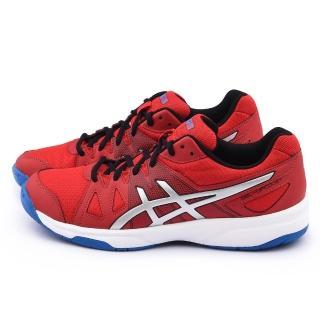 【Asics】男款GEL-UPCOURT 排羽球運動鞋(B400N-2393-紅)
