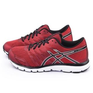 【Asics】男款GEL-ZARACA 4 慢跑運動鞋(T5K3N-2699-紅)