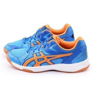 【Asics】男款RIVRE CS 排羽球運動鞋(TVRA03-4209-藍)