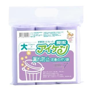 【愛潔】防漏香氛 清潔袋(L/75×65cm/45L)