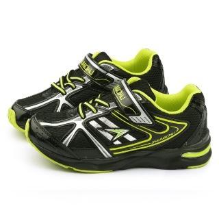 【Achilles瞬足】大童 輕量機能運動鞋(ESJJ0110-黑)