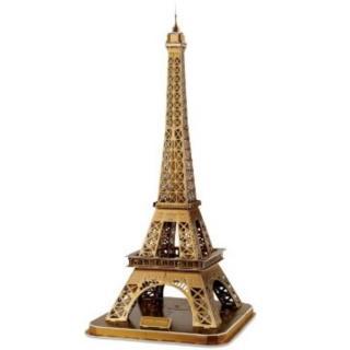 【FUN PUZZLE】3D拼圖-艾菲爾鐵塔-精裝版