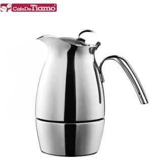 【Tiamo】512 雲雀義式摩卡壺-三杯份(HA2272)