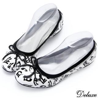 【Deluxe】舞動音符平底娃娃鞋(娃娃鞋)