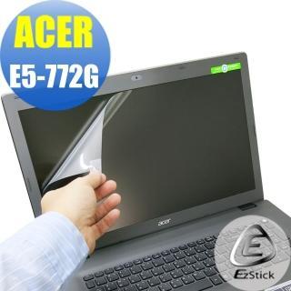 【EZstick】ACER E5-772 專用 靜電式筆電LCD液晶螢幕貼(可選鏡面或霧面)