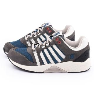 【K-SWISS】男款 SI-18 TRAINER 3 SDE 運動鞋(03515-059-灰藍)