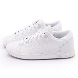 【K-SWISS】男款 LOZAN III 時尚休閒鞋(03212-175-白)
