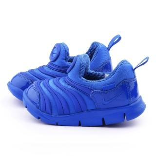 【NIKE】小童 毛毛蟲輕量運動鞋(343938411-藍)