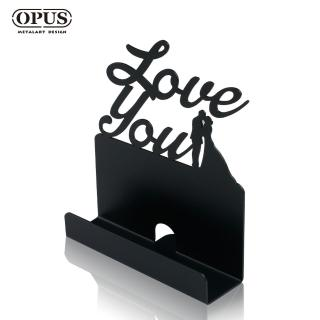 【OPUS東齊金工】歐式鐵藝名片座/高級名片架/會展用品/金屬商務名片盒(愛情)