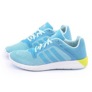 【Adidas】女款 CC Fresh 2 W輕量慢跑鞋(B22976-淺藍)