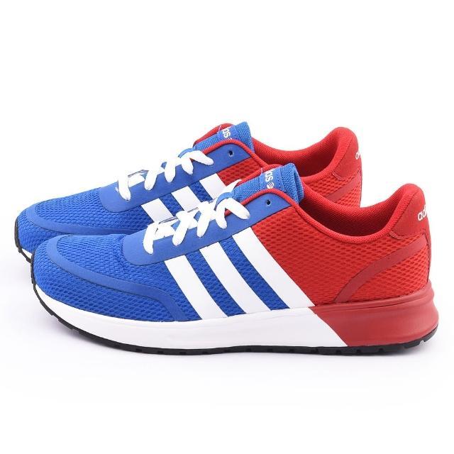 【Adidas】男款V RACER TM II TAPE 慢跑運動鞋(F98921-藍紅)